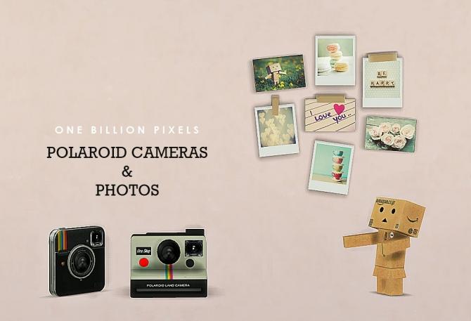 Sims 4 Polaroid Cameras & Photos at One Billion Pixels