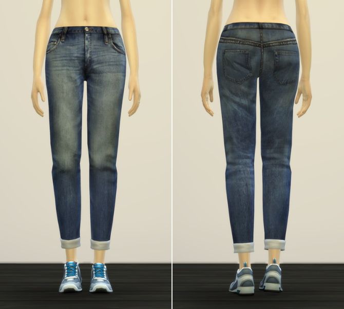 Jeans V2 for females at Rusty Nail image 11114 Sims 4 Updates