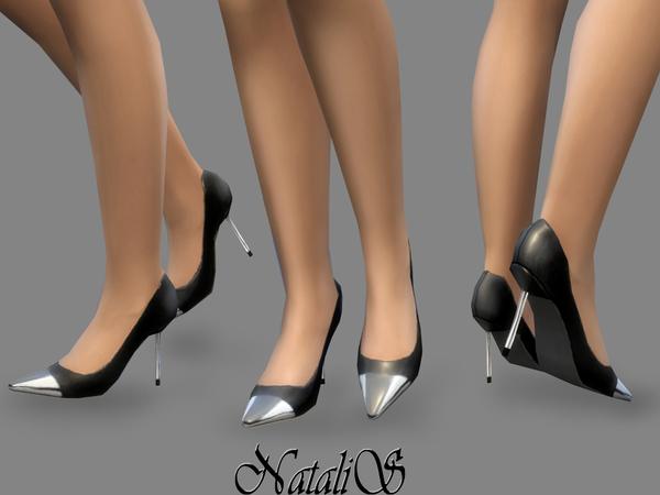 Metal toe pumps by NataliS at TSR image 1120 Sims 4 Updates