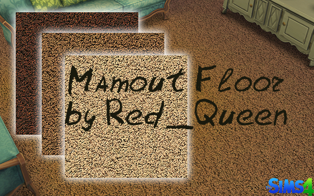 Sims 4 Mamout Floor by Red Queen at ihelensims