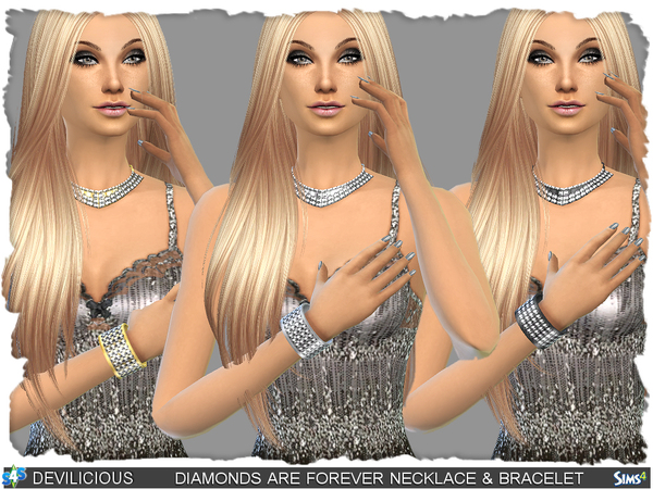 Diamonds Are Forever Set by Devilicious at TSR image 1158 Sims 4 Updates