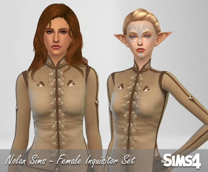 Female Inquisitor set at Nolan Sims image 12101 670x552 Sims 4 Updates