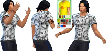 Shirts for males at Khany Sims image 12210 Sims 4 Updates