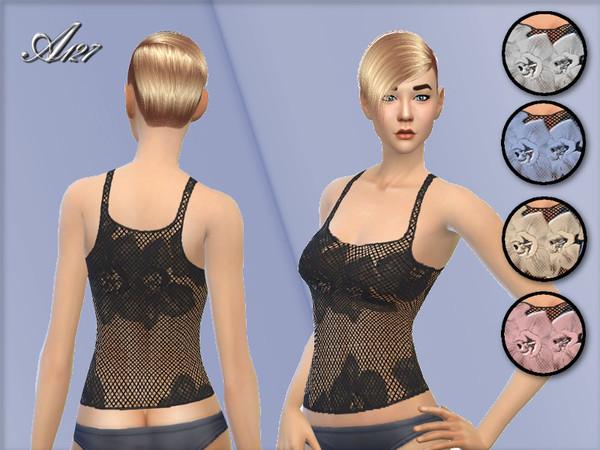 Rose top at Altea127 SimsVogue image 1249 Sims 4 Updates