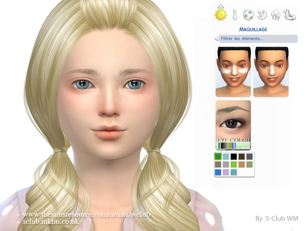 Eyecolor 07 by S Club WM at TSR image 1250 Sims 4 Updates