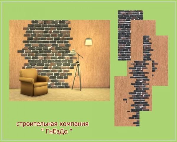 Ivory Brick seamless wall at Sims by Mulena image 1251 Sims 4 Updates