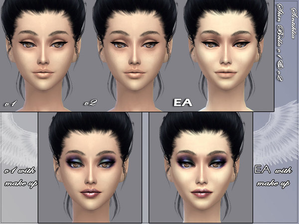 Skin Bella v1 and v2 and gloss by Sintiklia Sims at TSR image 12531 Sims 4 Updates