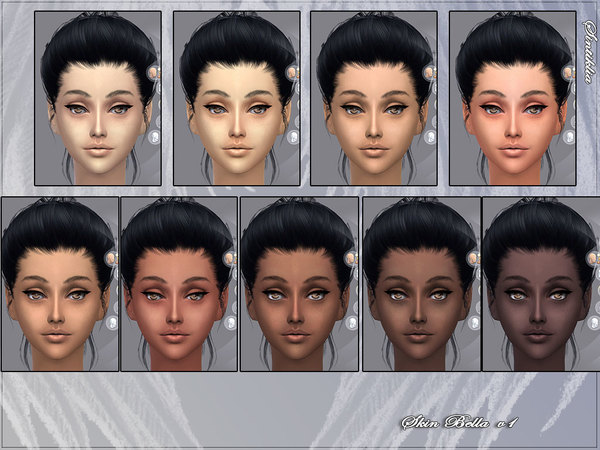 Skin Bella v1 and v2 and gloss by Sintiklia Sims at TSR image 12641 Sims 4 Updates