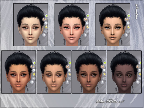 Skin Bella v1 and v2 and gloss by Sintiklia Sims at TSR image 12741 Sims 4 Updates