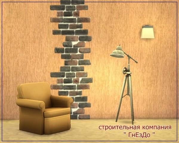 Ivory Brick seamless wall at Sims by Mulena image 1281 Sims 4 Updates