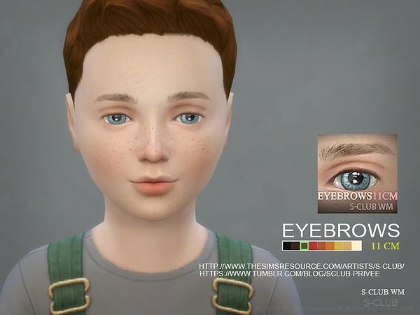 Sims 4 Eyebrows11 CM by S Club WM at TSR