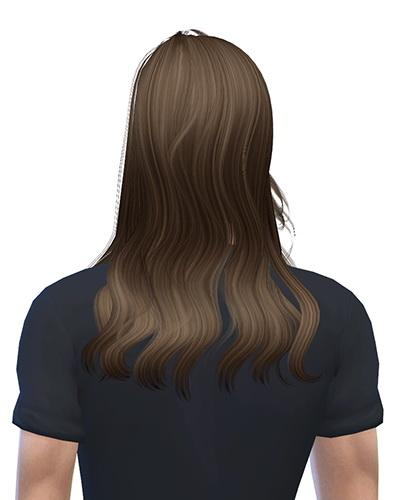 Sims 4 Newsea YU114 Shaine hair for males at Ritsuka