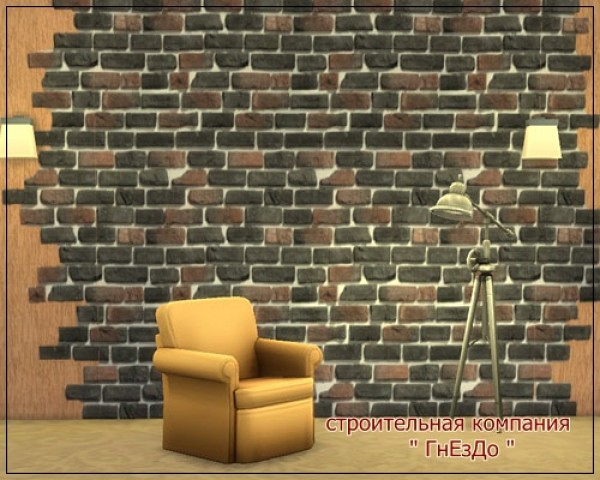 Ivory Brick seamless wall at Sims by Mulena image 1291 Sims 4 Updates