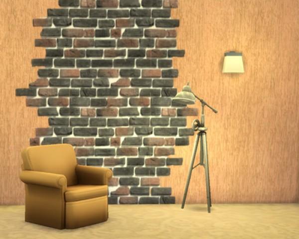 Ivory Brick seamless wall at Sims by Mulena image 1301 Sims 4 Updates