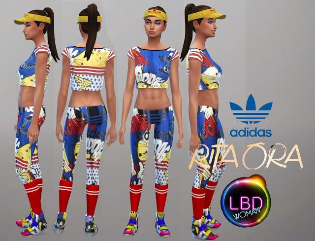 Rita Ora Ss 15 Sport Collection At La Boutique De Jean