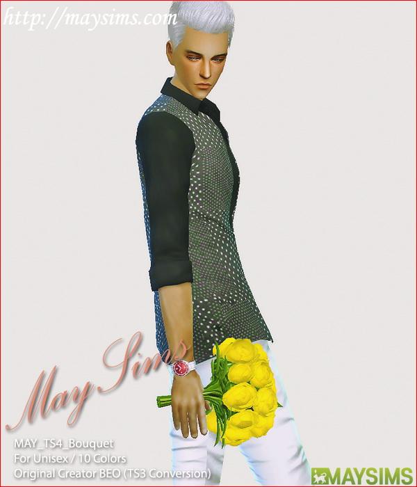 Sims 4 Bouquet conversion at May Sims