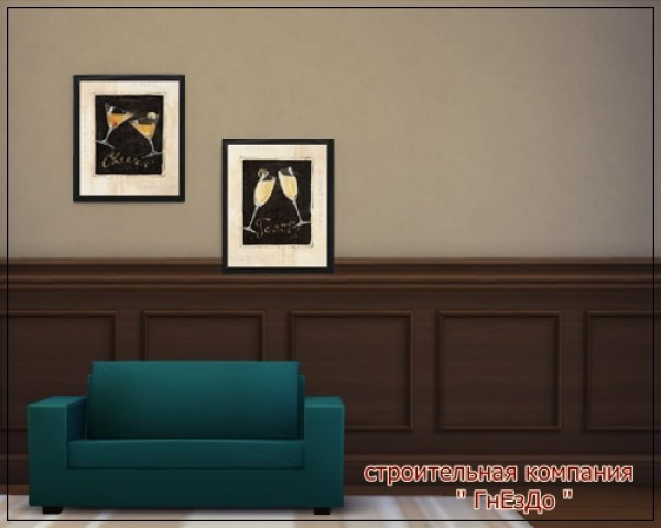 Sims 4 Boca painting at Sims by Mulena
