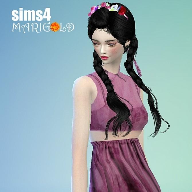Flower hairband at Marigold image 135 Sims 4 Updates