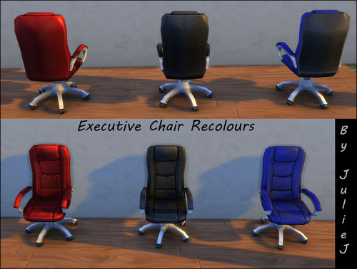 Sims 4 Executive Office Chairs Recolours at Julietoon – Julie J