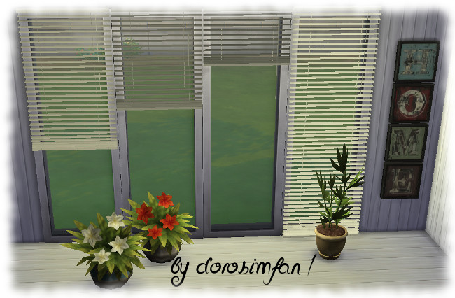 Blinds By Dorosimfan1 At Sims Marktplatz 187 Sims 4 Updates