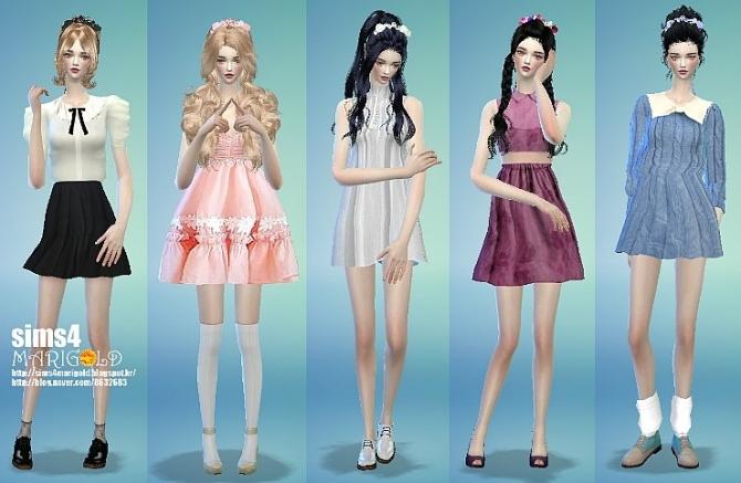 Flower hairband at Marigold image 138 Sims 4 Updates