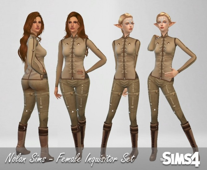 Female Inquisitor set at Nolan Sims image 1380 670x552 Sims 4 Updates