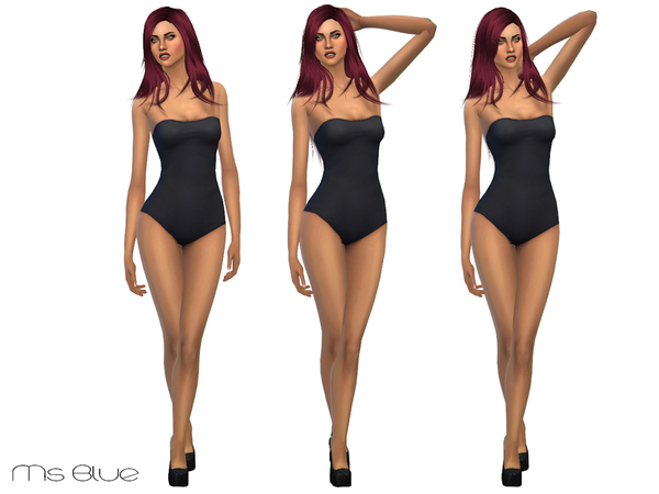 Sims 4 CAS Pose Cheerful 01 by Ms Blue at TSR