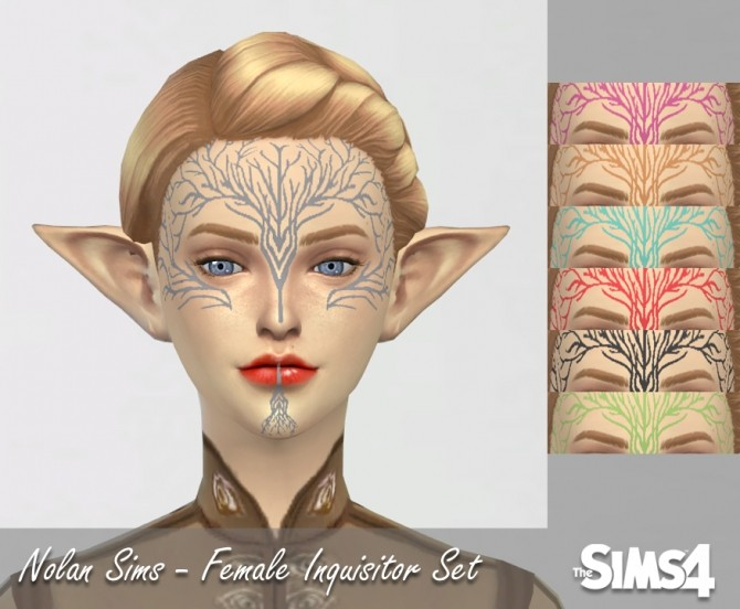 Female Inquisitor set at Nolan Sims image 1460 670x552 Sims 4 Updates