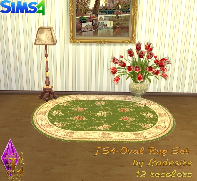 Oval Rugs at Ladesire image 151 Sims 4 Updates