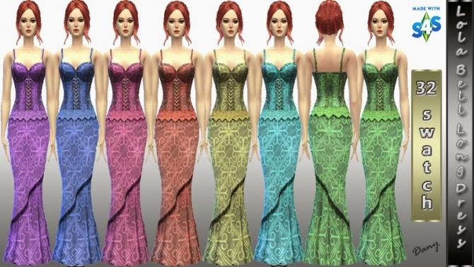 LolaBell Long Dress at Dany's Blog image 15114 Sims 4 Updates