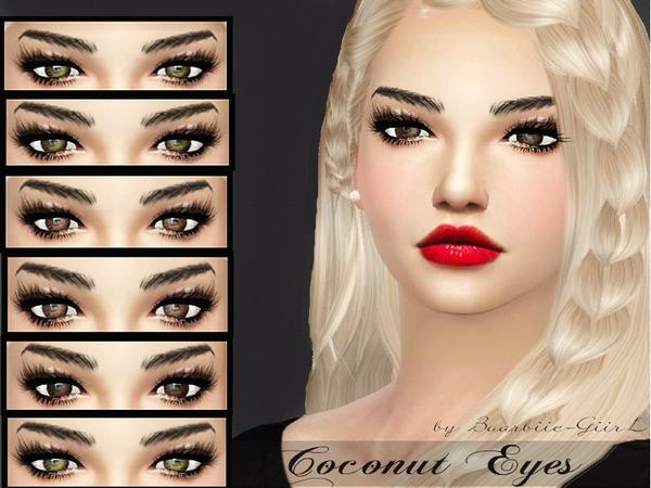 Sims 4 Coconut Eyes by Baarbiie GiirL at TSR