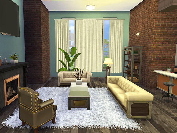 Sims 4 Lavrin house by Rirann at TSR
