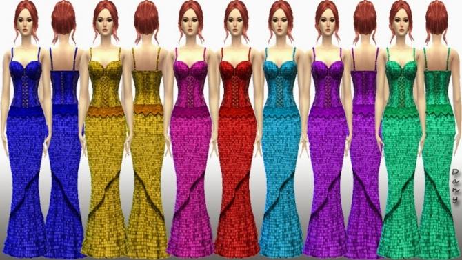 LolaBell Long Dress at Dany's Blog image 15213 Sims 4 Updates