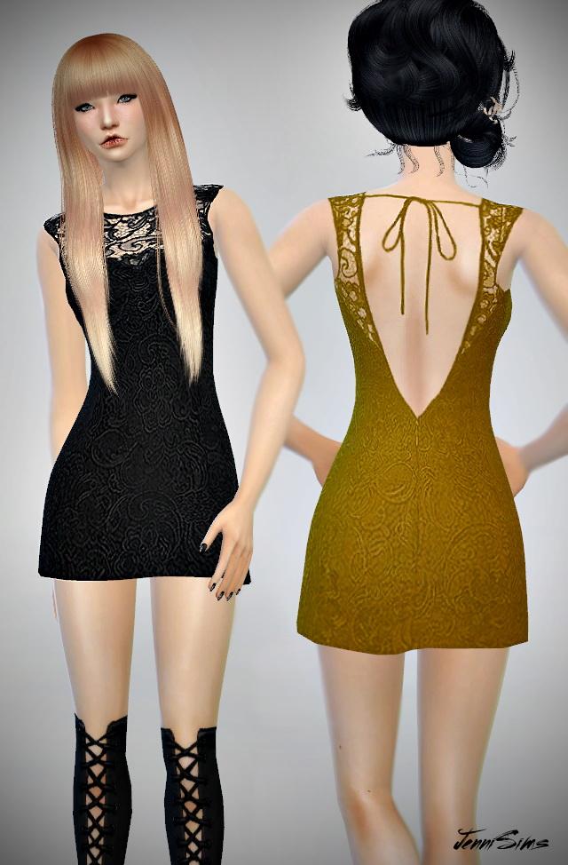 Sims 4 Dresses set at Jenni Sims