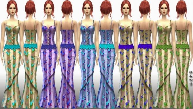 LolaBell Long Dress at Dany's Blog image 1549 Sims 4 Updates