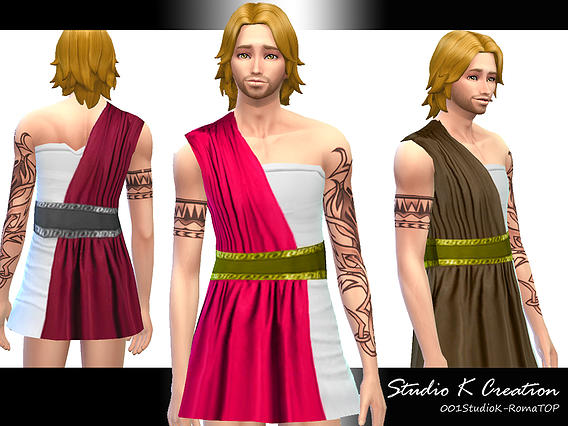 Sims 4 ROMA Male Clothes at Studio K Creation