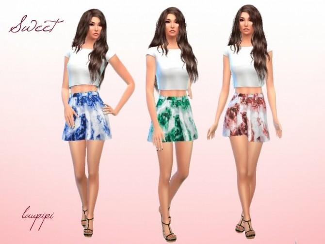 Sims 4 Sweet skirt at Laupipi