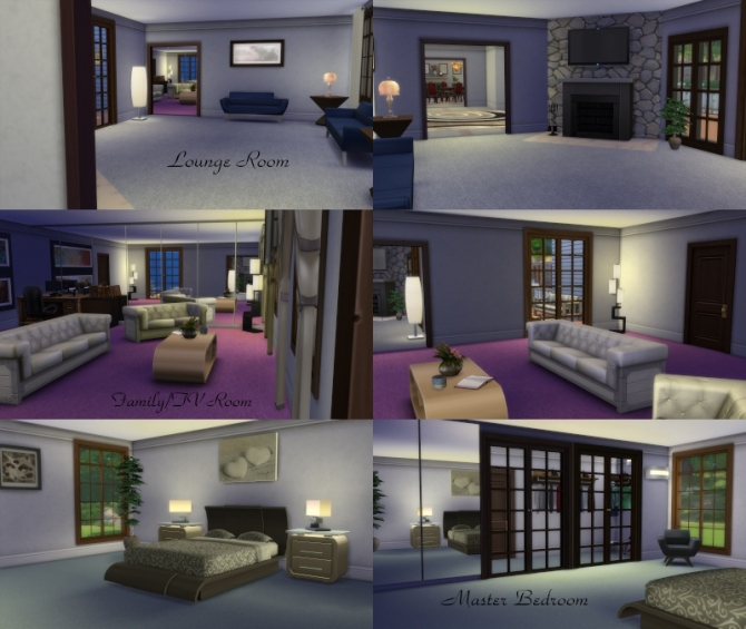 Sims 4 Grandeur Estate by mamaj at Simtech Sims4