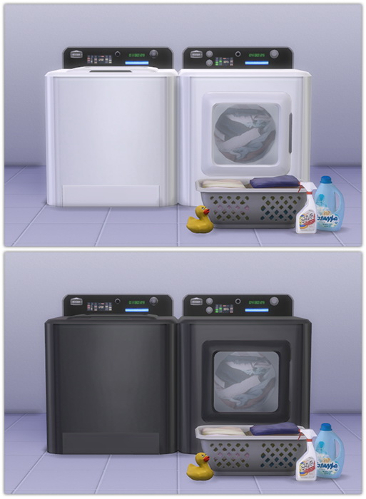 Washer & Dryer recolors at 13pumpkin31 image 16113 Sims 4 Updates