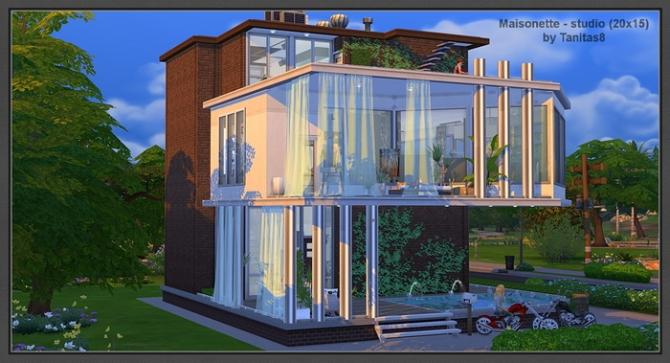 Maisonette Studio 20x15 At Tanitas8 Sims 187 Sims 4 Updates