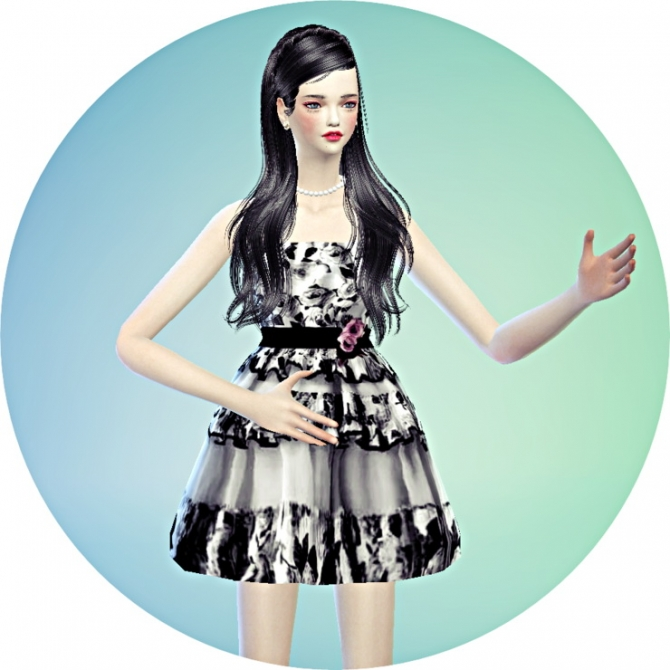 Flower mini dress at Marigold image 1630 Sims 4 Updates