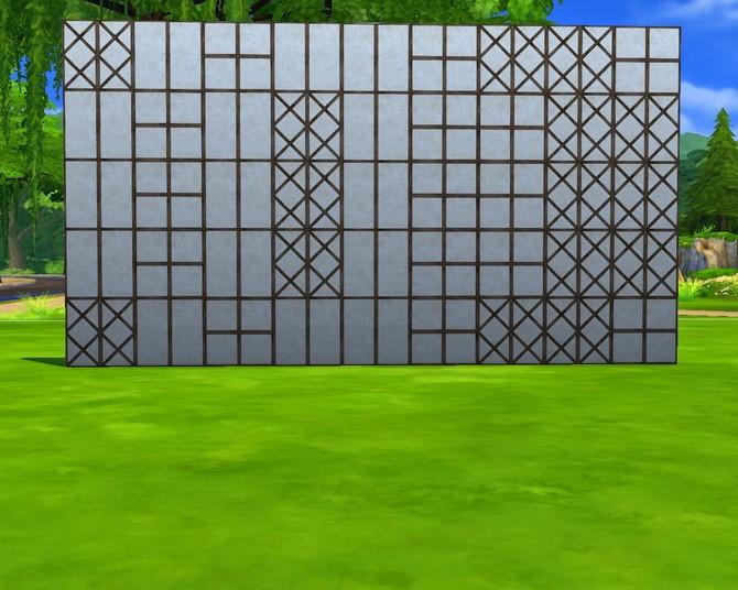 Fachwerk A1 walls at Mara45123 image 16321 670x536 Sims 4 Updates