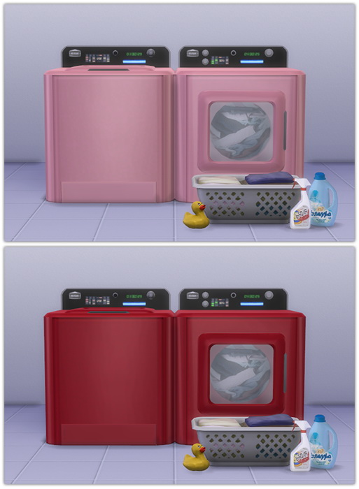 Washer & Dryer recolors at 13pumpkin31 image 1648 Sims 4 Updates