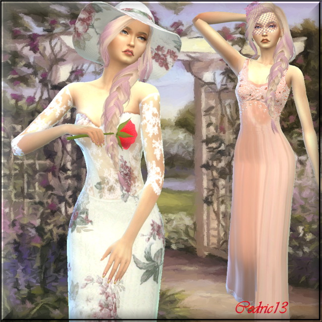 Sims 4 Clotilde by Cedric13 at L'univers de Nicole