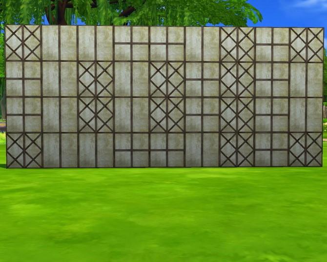 Fachwerk A1 walls at Mara45123 image 16521 670x536 Sims 4 Updates