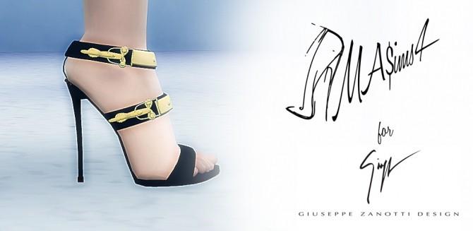 Spring Summer 2015 Sandals by MrAntonieddu at MA$ims3 image 1660 670x327 Sims 4 Updates