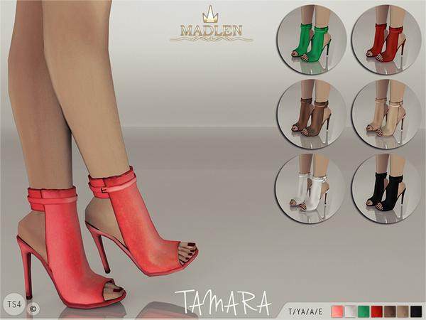 Sims 4 Madlen Tamara Boots by MJ95 at TSR