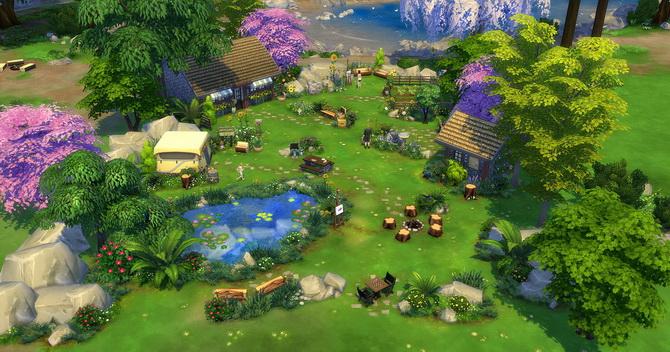Clapotis camp lot at Studio Sims Creation image 1709 Sims 4 Updates