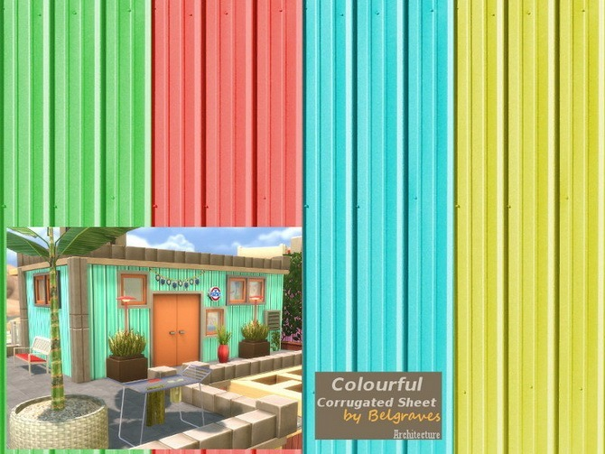 bathroom wall colors pictures corrugated sheet walls at leander belgraves 187 sims 4 updates 17113