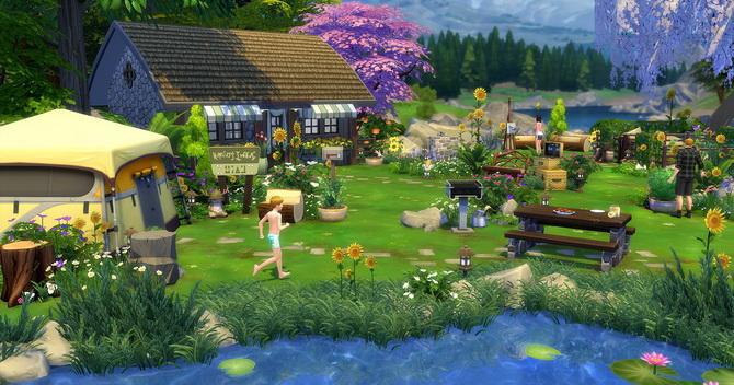 Clapotis camp lot at Studio Sims Creation image 17115 Sims 4 Updates